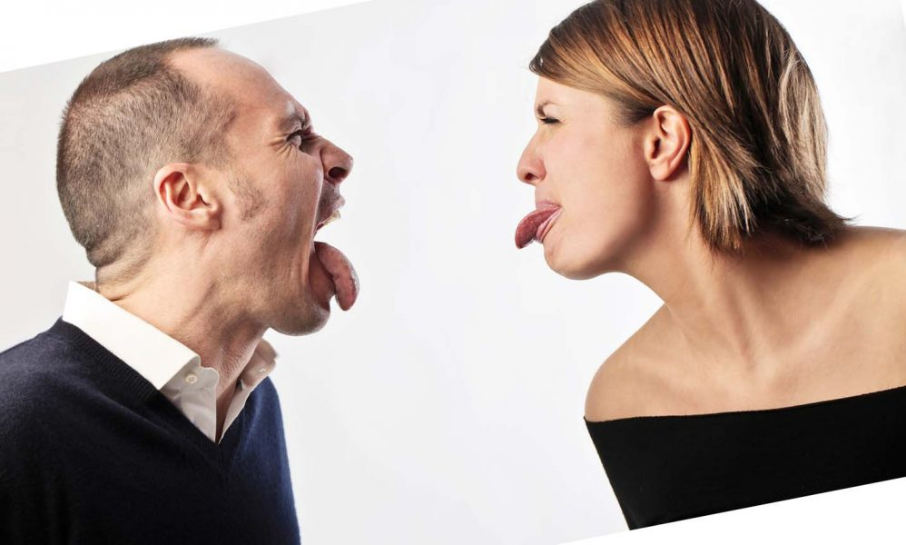 Разговор не услышать друг друга